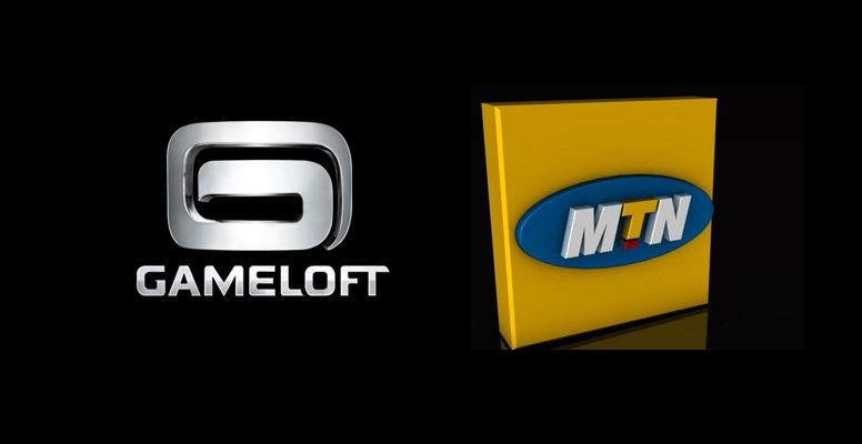 mtn partners with gameloft